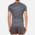 Superdry Men's Gym Base Dynamic Runner T-Shirt - Grey Grit: Image 3