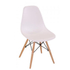 Scandinavian Eiffel Table and 4 Chairs Set - White: Image 2