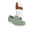 Rockport Men's Summer Sea 2-Eye Boat Shoes - Light Grey: Image 3