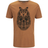 Animal Men's Owly T-Shirt - Leather Brown Marl: Image 1