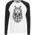 Camiseta manga larga Animal Bornwild - Hombre - Blanco