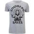 Futurama Men's Zoidberg Saves T-Shirt - Grey Marl: Image 1