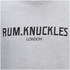 Rum Knuckles Men's London Crew Neck Sweatshirt - Heather Grey: Image 3