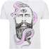 Rum Knuckles Men's Snake Beard T-Shirt - White: Image 3