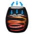 Tower T17012 4L VortX Air Fryer - Black: Image 3