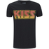 Kiss Men's Vintage Flame Logo T-Shirt - Black: Image 1