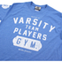 Varsity Team Players Men's Gym T-Shirt - Heather Royal: Image 3