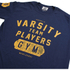 Varsity Team Players Men's Gym T-Shirt - Navy: Image 3
