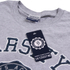 Varsity Team Players Men's Needle & Thread T-Shirt - Grey Marl: Image 4