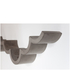 Lyon Beton Concrete Cloud Toilet Paper Shelf - Large
