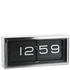 LEFF Amsterdam Brick Wall & Desk Clock - Stainless Steel: Image 2