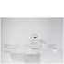 LEFF Amsterdam Felt Table Clock White With Black Hands: Image 3
