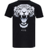 Cotton Soul Men's Leopard T-Shirt - Black: Image 1