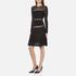 Diane von Furstenberg Women's Celina Dress - Black: Image 2