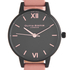 Olivia Burton Women's After Dark Midi Watch - Black/Dusty Pink: Image 3