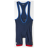 adidas Men's Team GB Replica Training Cycling Bib Shorts - Blue: Image 7