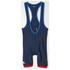 adidas Men's Team GB Replica Training Cycling Bib Shorts - Blue: Image 7