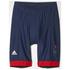 adidas Women's Team GB Replica Training Cycling Shorts - Blue: Image 7