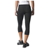 adidas Women's Sequencials Climalite 3/4 Running Tights - Black: Image 3