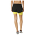 adidas Women's Gym Two-in-One Training Shorts - Black/Yellow: Image 3
