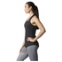 adidas Women's Sequencials Climalite Running Tank Top - Black: Image 2