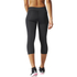 adidas Women's Ultimate Fit Training 3/4 Tights - Black: Image 3