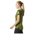 adidas Women's Climachill Training T-Shirt - Yellow: Image 2