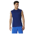 adidas Men's Cool 365 Training Sleeveless T-Shirt - Blue: Image 1