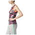 adidas Women's Stella Sport Check Training Tank Top - Red/Blue: Image 2