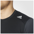 adidas Men's Response Long Sleeve Running T-Shirt - Black: Image 4