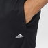 adidas Men's Swat Plain Training Shorts - Black: Image 4