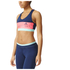 adidas Women's Stella Sport Padded Training Sports Bra - Blue/Pink: Image 2