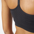adidas Women's Training Seamless Bra - Black: Image 6