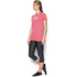 Under Armour Women's Favorite Big Logo Short Sleeve T-Shirt - Knock Out: Image 4