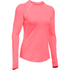 Under Armour Women's ColdGear Armour Crew Long Sleeve Shirt - Brilliance Pink: Image 1