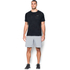 Under Armour Men's Jacquard Tech Short Sleeve T-Shirt - Black/Stealth Grey: Image 3