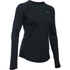 Under Armour Women's ColdGear Armour Crew Long Sleeve Shirt - Black: Image 1