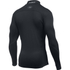 Under Armour Men's ColdGear Infrared Elements 1/4 Zip Long Sleeve Shirt - Black: Image 2