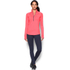 Under Armour Women's ColdGear Armour 1/2 Zip Long Sleeve Shirt - Brilliance Pink: Image 3