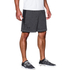 Under Armour Men's Raid International Shorts - Steel/Black: Image 3
