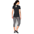 Under Armour Women's HeatGear CoolSwitch Short Sleeve T-Shirt - Black: Image 5