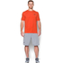 Under Armour Men's Sportstyle Left Chest Logo T-Shirt - Dark Orange/Nova Teal: Image 3