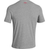 Under Armour Men's Sportstyle Left Chest Logo T-Shirt - True Grey Heather/Red: Image 2