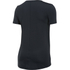 Under Armour Women's HeatGear Armour Short Sleeve T-Shirt - Black: Image 2