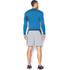 Under Armour Men's Armour HeatGear Long Sleeve Compression Top - Brilliant Blue/Stealth Grey: Image 5