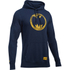 Under Armour Men's Retro Batman Triblend Hoody - Navy: Image 1