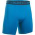 Under Armour Men's Armour HeatGear Compression Training Shorts - Brilliant Blue/Stealth Grey: Image 1