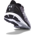 Under Armour Men's Charged Bandit 2 Running Shoes - Black/White: Image 3