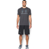 Under Armour Men's Sportstyle Logo T-Shirt - Black/Steel/Stealth Grey: Image 3