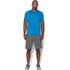Under Armour Men's Tech Short Sleeve T-Shirt - Brilliant Blue/Stealth Grey: Image 3